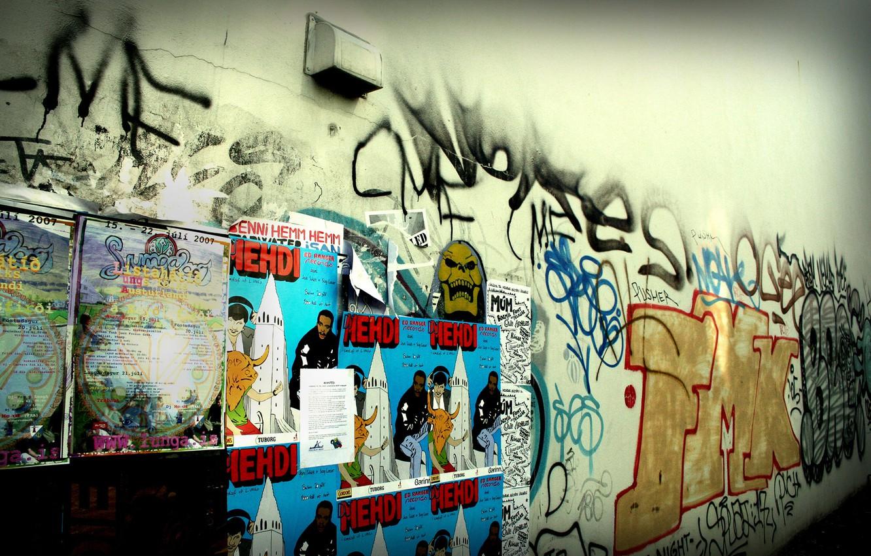 Обои фон, stena, graffiti. Разное foto 6