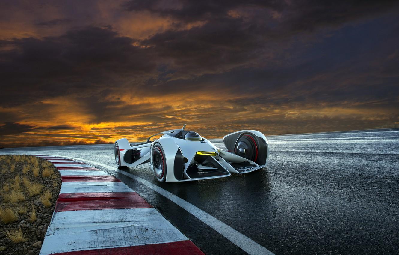 Фото обои Concept, Chevrolet, Vision, Gran Turismo, 2014, Chaparral
