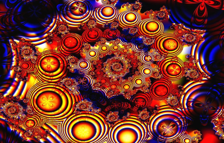 Обои фрактал, Цвет, узор. Абстракции foto 14