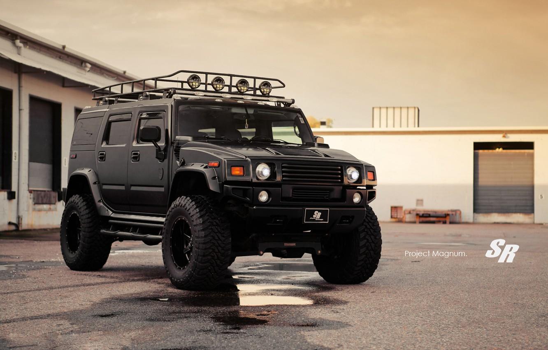 Фото обои тюнинг, 2012, Hummer, suv, Auto Group, Magnum.хамер