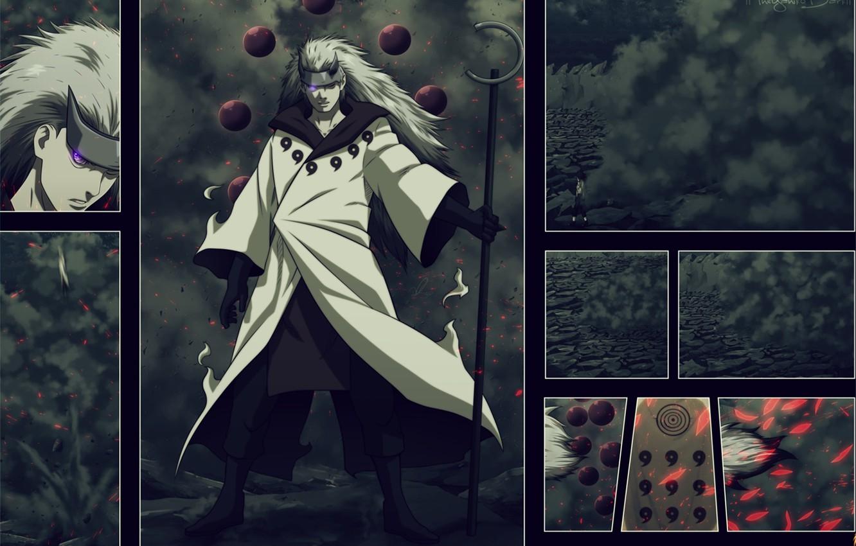 Фото обои Наруто, Naruto, Akatsuki, Madara, Tobi, naruto shippuden, Manga, Madara Uchiha, Мадара, Клан учиха, Клан учиха.Obito, …