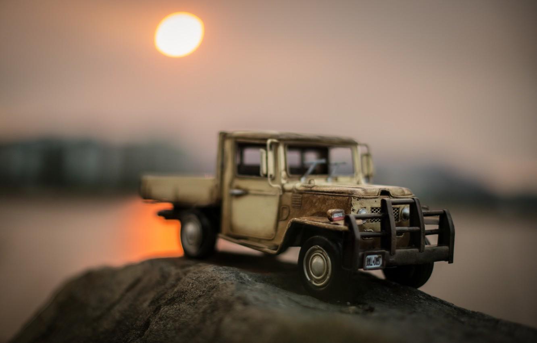 Фото обои Toyota, Sunset, Great Southern Land