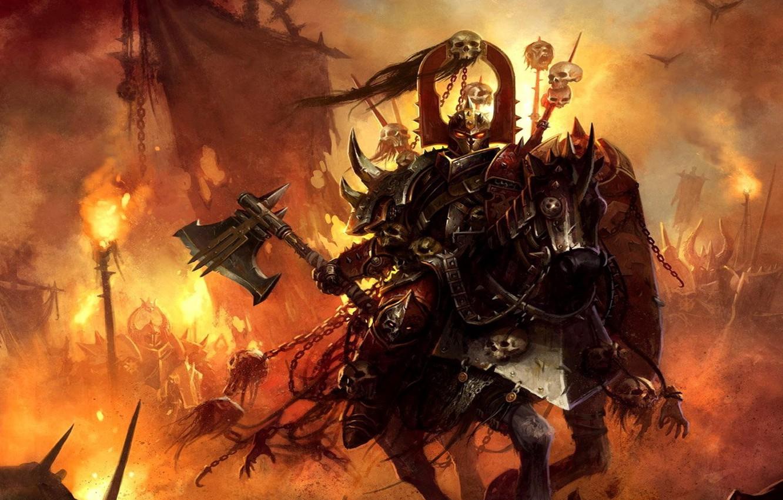 Фото обои fantasy, warhammer, chaos
