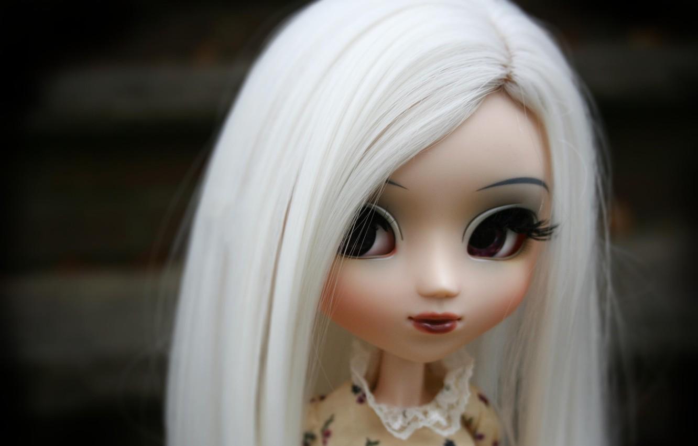 Фото обои глаза, лицо, кукла, большие