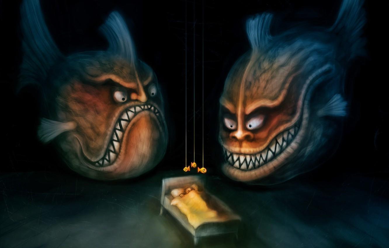 Обои маска, страх. Разное foto 14