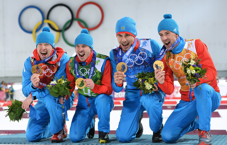 занятые места 2014 олимпиада