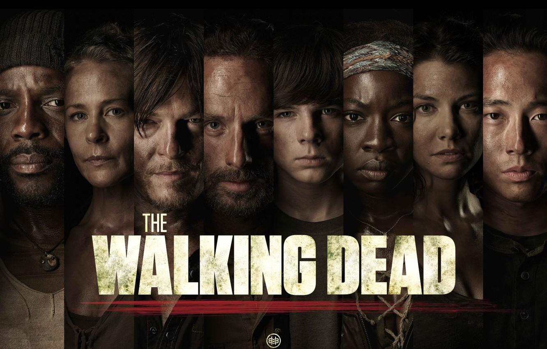 Фото обои Мэгги, Maggie, сериал, Карл, The Walking Dead, Ходячие мертвецы, Michonne, Rick, Carl, Glenn, Daryl, Carol, …