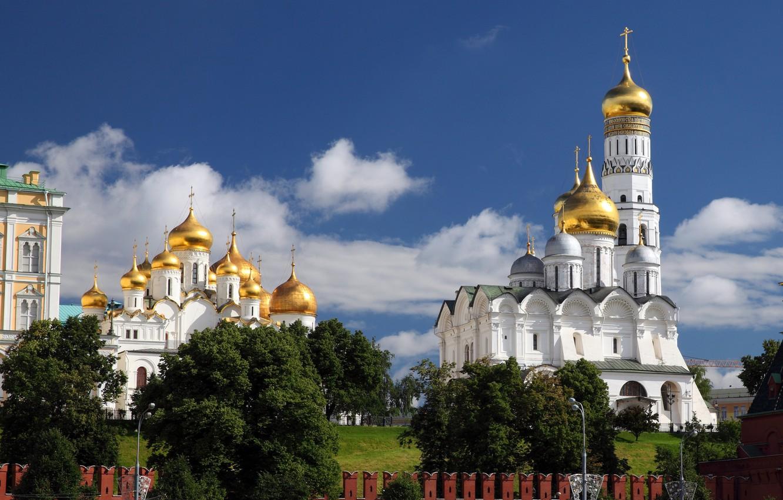 Обои московский кремль, russia, россия, moscow. Города foto 15