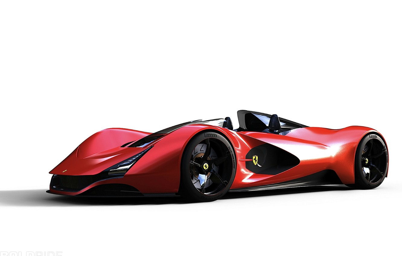 Фото обои concept, ferrari, 1920x1200, F80 Supercar, aliante