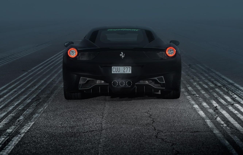 Фото обои Ferrari, 458, Italia, Ferrari 458