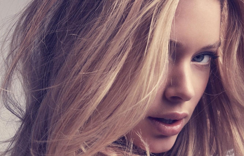 Фото обои глаза, девушка, лицо, модель, волосы, Doutzen Kroes, блондинка, губы, красотка, Victoria's Secret Angels, Даутцен Крёз