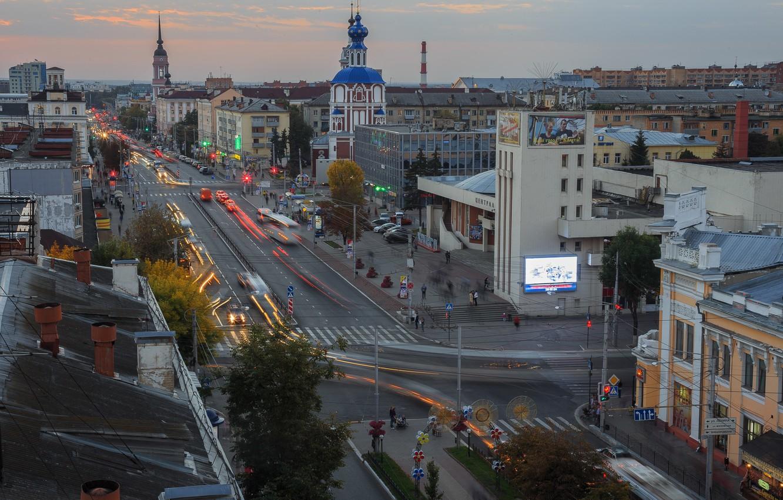 Обои крыши, россия, russia, Облака, kaluga. Города foto 16