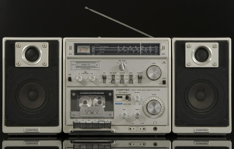 Фото обои ретро, классика, магнитофон, Contec 3883