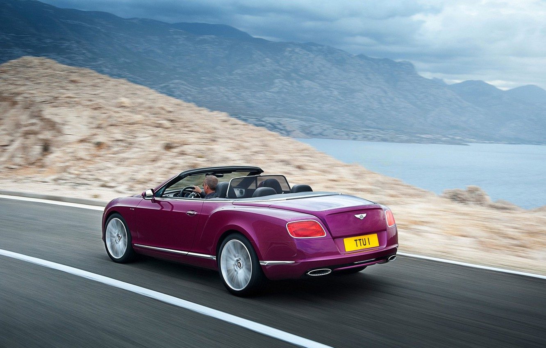 Фото обои Bentley, Continental, кабриолет, GTC