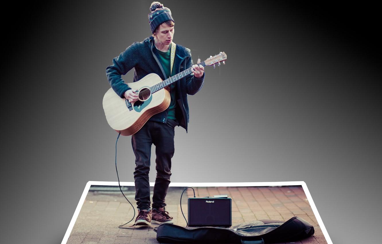 Обои Гитара, Человек, музыка. Музыка foto 9