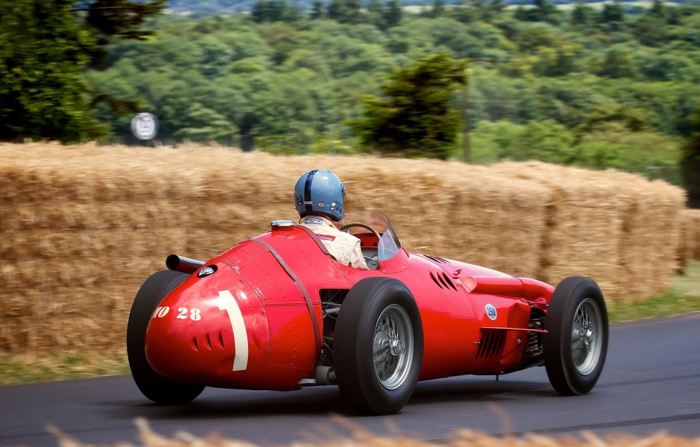 Фото обои машина, гонка, спорт, Maserati 250F