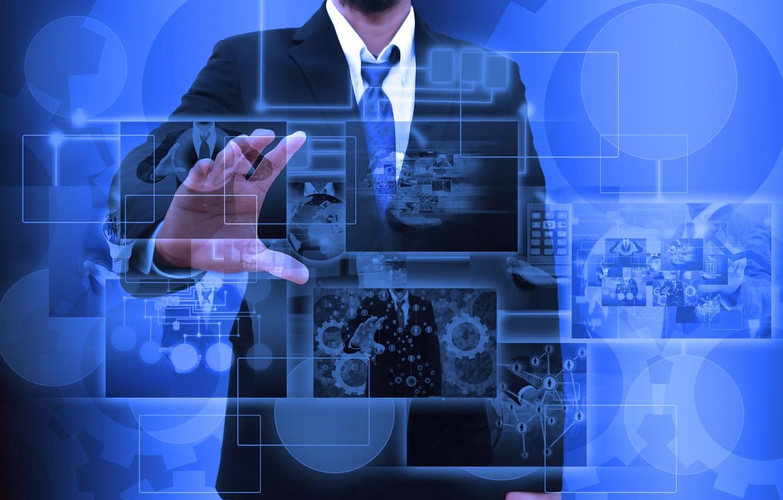 Обои технологии, Схема, бизнес, Интернет. HI-Tech foto 10