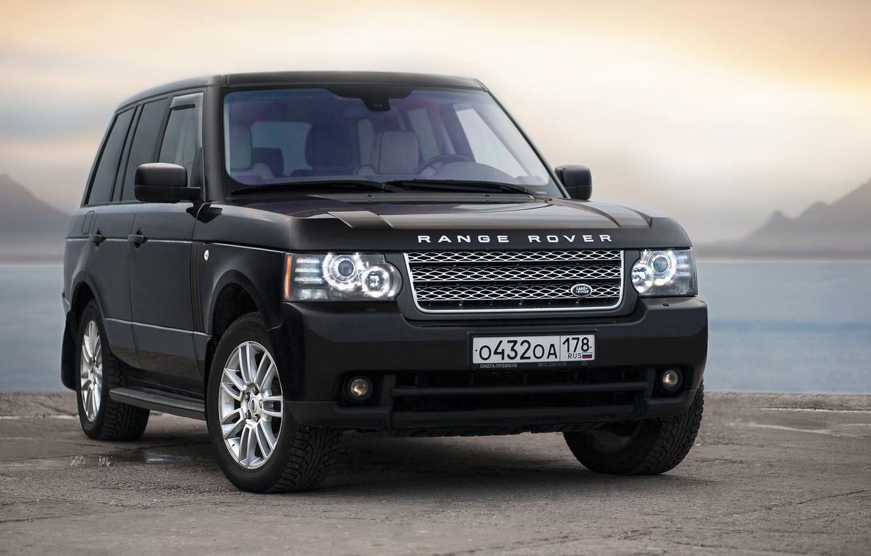 Фото обои Джип, Range Rover, Car, Автомобиль, Внедорожник, SUV