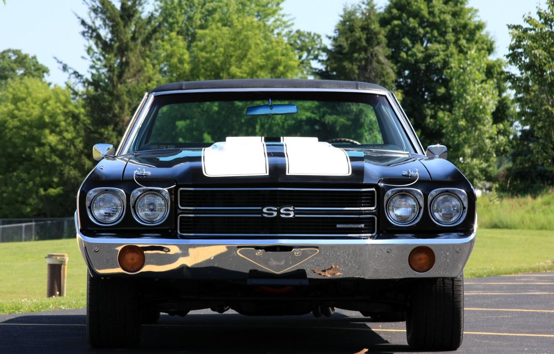 Фото обои Chevy, Super Sport, El Camino, автомобиль. классика