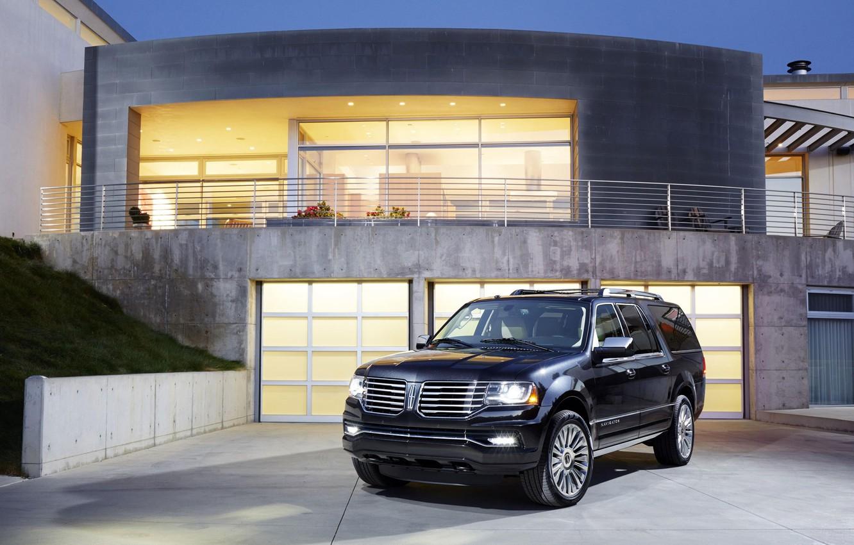 Фото обои Lincoln, luxury, Navigator, 5.4l