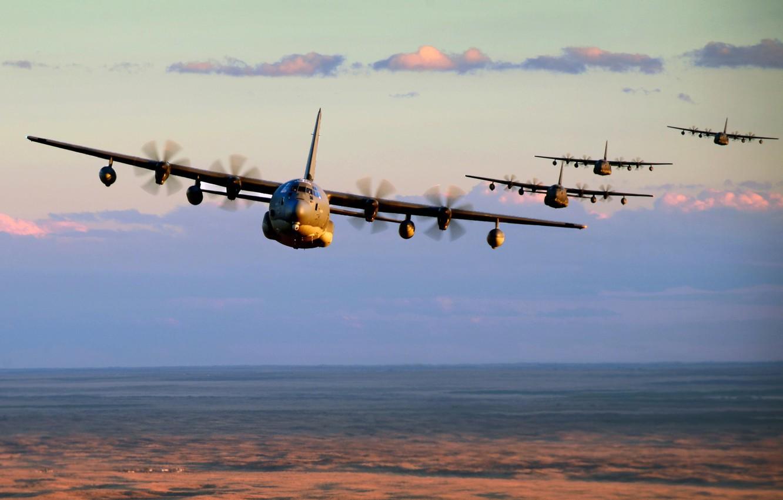 Обои Lockheed, c-130, hercules, Геркулес, c-130, локхид. Авиация foto 6