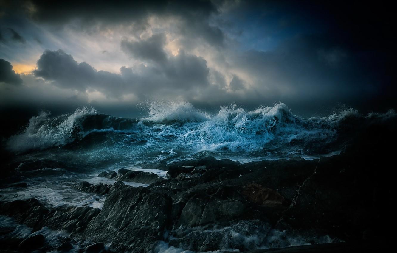Обои волны. Пейзажи foto 8