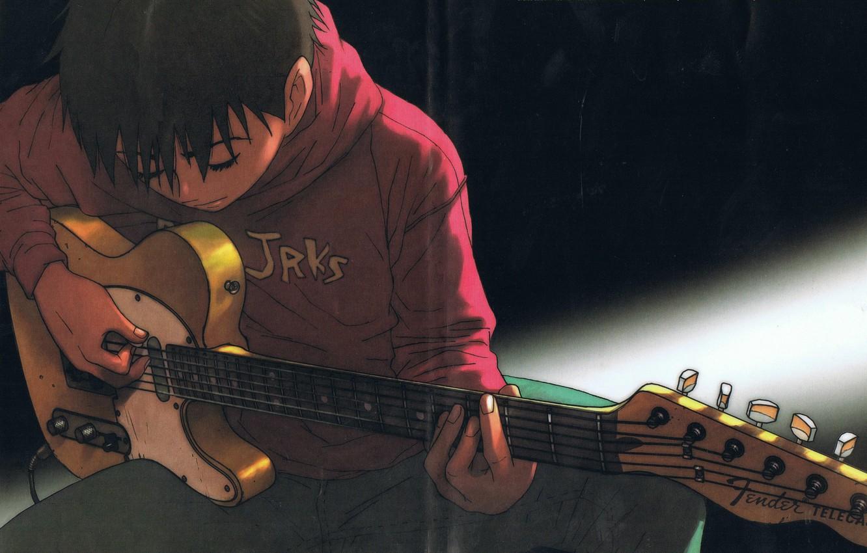 Фото обои гитара, guitar, удовольствие, fender, telecaster, Tanaka Yukio, pleasure, mongolian chop squad, Танака Юкио, BECK, монгольская …