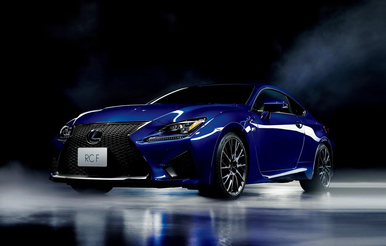 Фото обои Lexus, лексус, JP-spec, 2014, RC F
