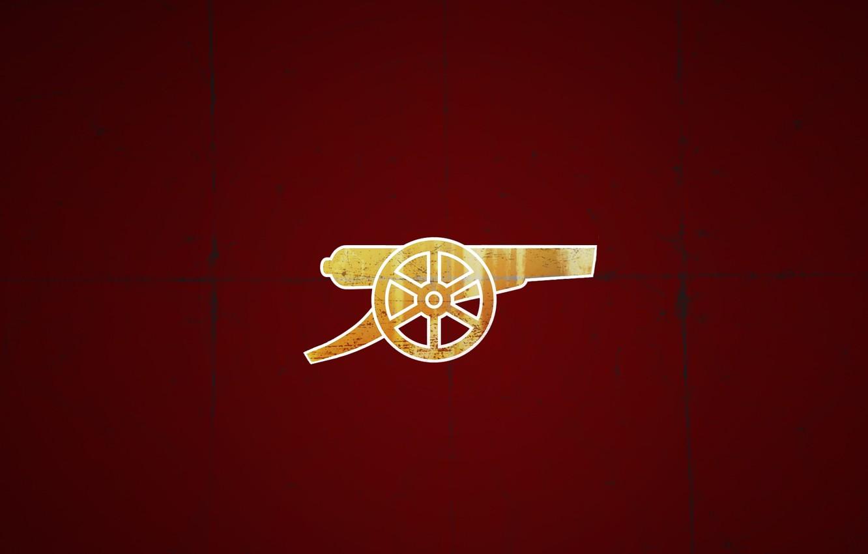 Фото обои фон, логотип, эмблема, пушка, Арсенал, Arsenal, Football Club, The Gunners, Канониры, Футбольный клуб