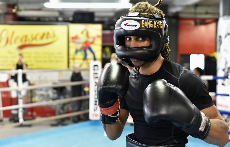 Картинки боксер на ринге