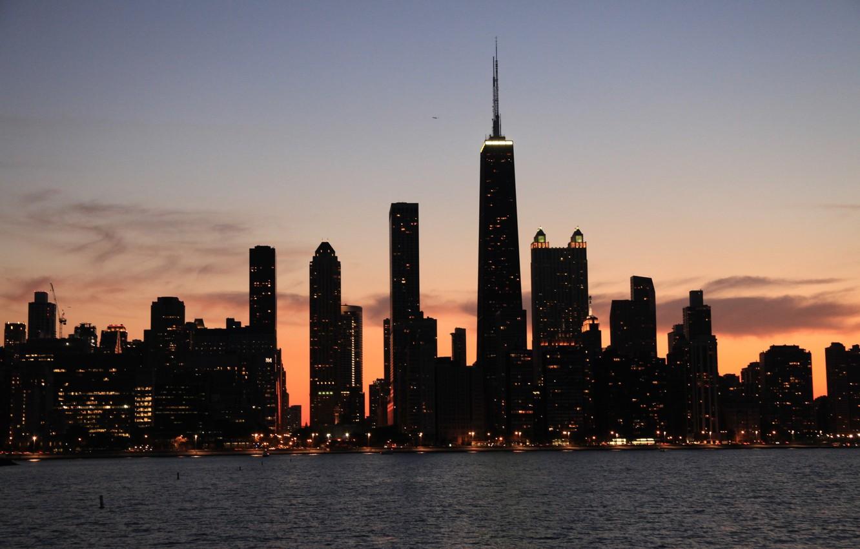 Обои америка, чикаго, высотки, небоскребы, chicago, сша, здания. Города foto 7