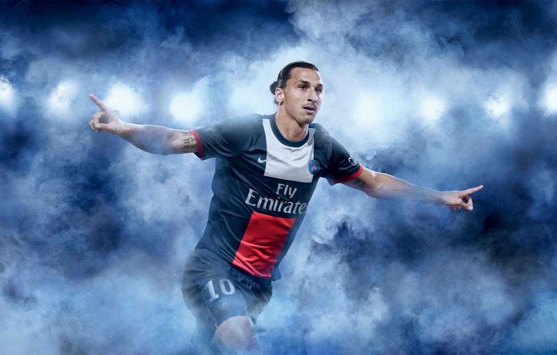 Фото обои футбол, Париж, sport, football, samurai, Paris saint germain, Zlatan Ibrahimovic, footballer, psg