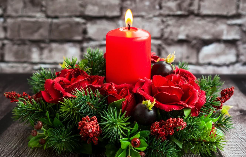 маленькое картинки с цветами новогодние того