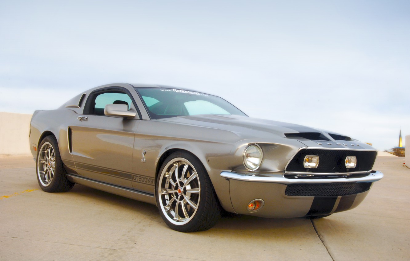 Фото обои Mustang, Ford, Shelby, GT500KR