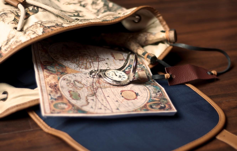 Обои карманные, сумка, карта, рюкзак. Разное foto 6