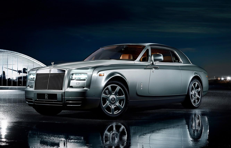 Фото обои Phantom, Машина, Desktop, Car, Rolls Royce, Автомобиль, Beautiful, Coupe, Wallpapers, Красивая, Фантом, Обоя, Automobile, Коллекция, …