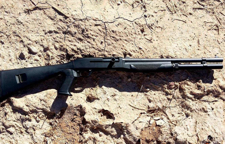 Фото обои оружие, ружьё, самозарядное, гладкоствольное, магазинное, Benelli M1