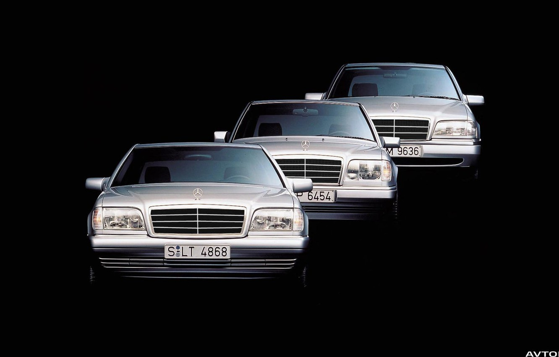 Обои mercedes-benz, w124, w140, w202 картинки на рабочий ...