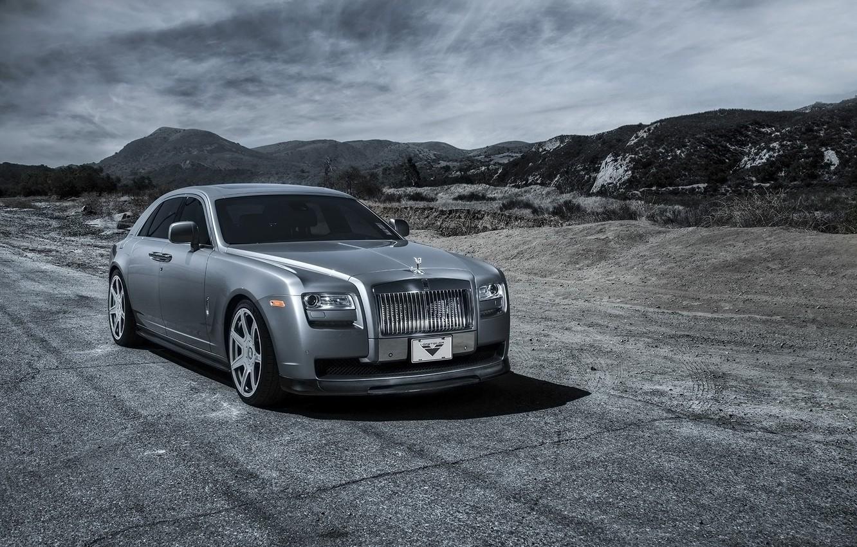 Фото обои car, тюнинг, Rolls Royce, Ghost, Vorsteiner, роллс ройс