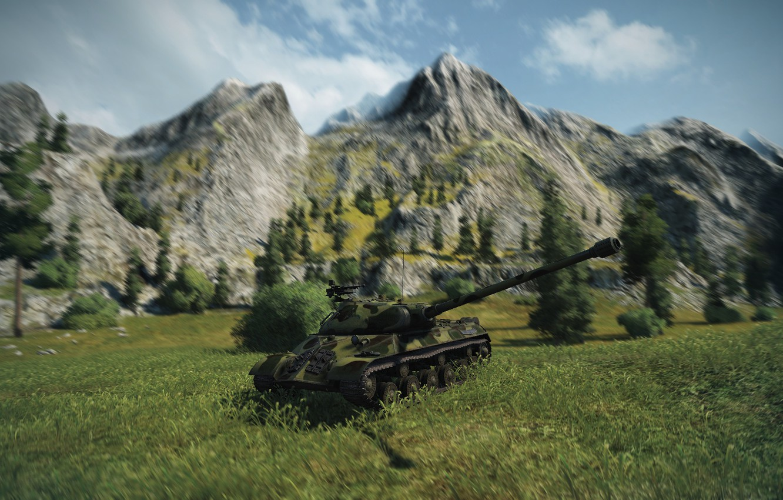 Фото обои WoT, tank, ИС-3, исправил