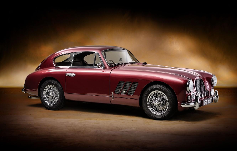 Фото обои Aston Martin, retro, Sports, old car, Saloon, Rallye Monte Carlo, DB2-4