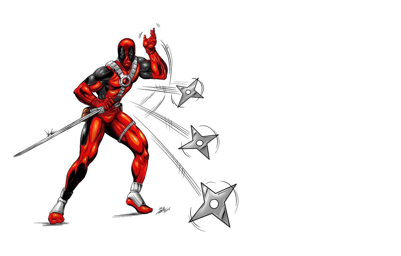 Фото обои Deadpool, Marvel, Дэдпул, Wade Wilson, Марвел, Уэйд Уилсон
