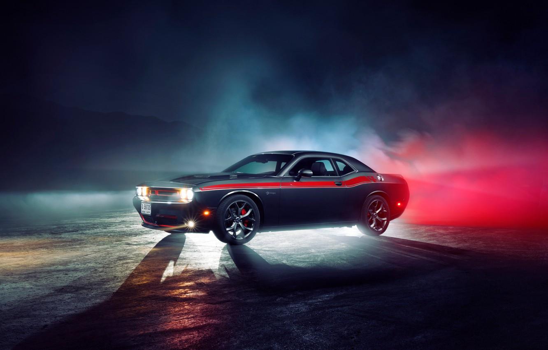 Фото обои Dodge, Challenger, muscle car, R/T