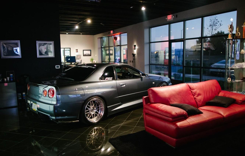 Фото обои стиль, интерьер, ниссан, gtr, Skyline, Nissan Skyline, гтр, скайлайн, GT-R 34