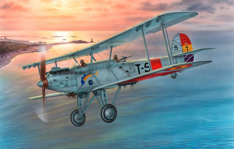 Обои Самолёт, Биплан. Авиация foto 10