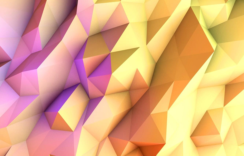 Обои свет, Цвет, грань, ребро. Абстракции foto 6