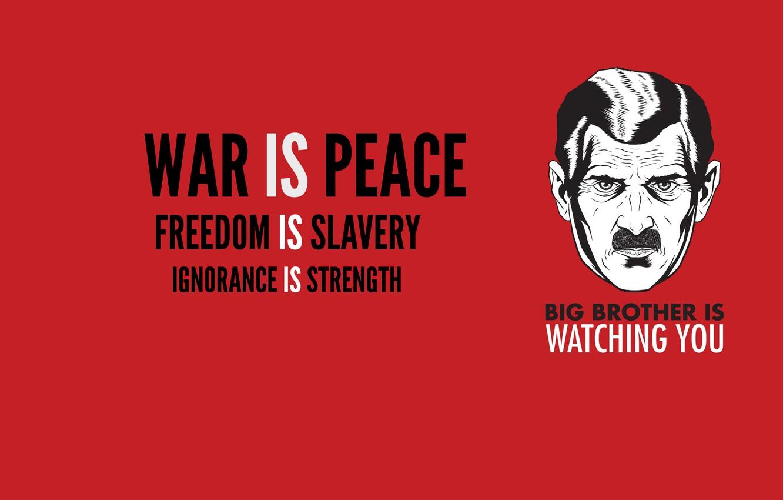 Фото обои усы, свобода, сила, война, прошлое, мир, 1984, большой брат, оруэлл, big brother, незнание, рабство
