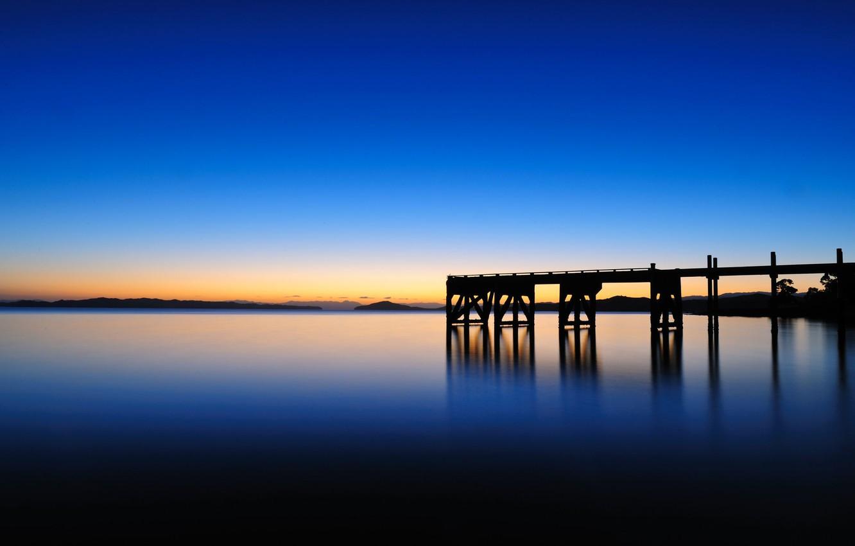 Фото обои sky, sea, sunrise, dawn, horizon, Maraetai