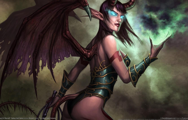 Фото обои World of Warcraft, Суккуб, Мир Варкрафта