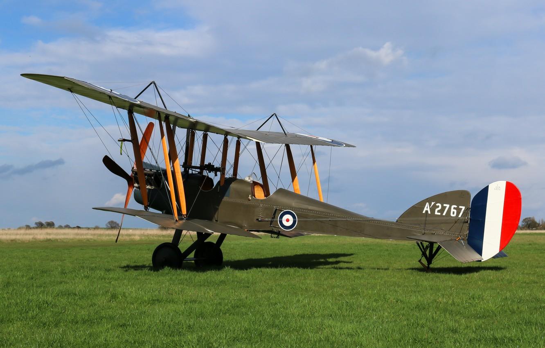 Обои самолёт-разведчик, Royal aircraft factory, английский, r.e.8. Авиация foto 6